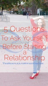 5 Questions Relationship Pin