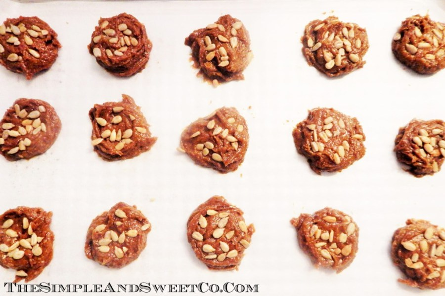 Sunflower Butter Cookies Paleo-Friendly