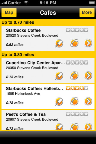 where to eat iphone app