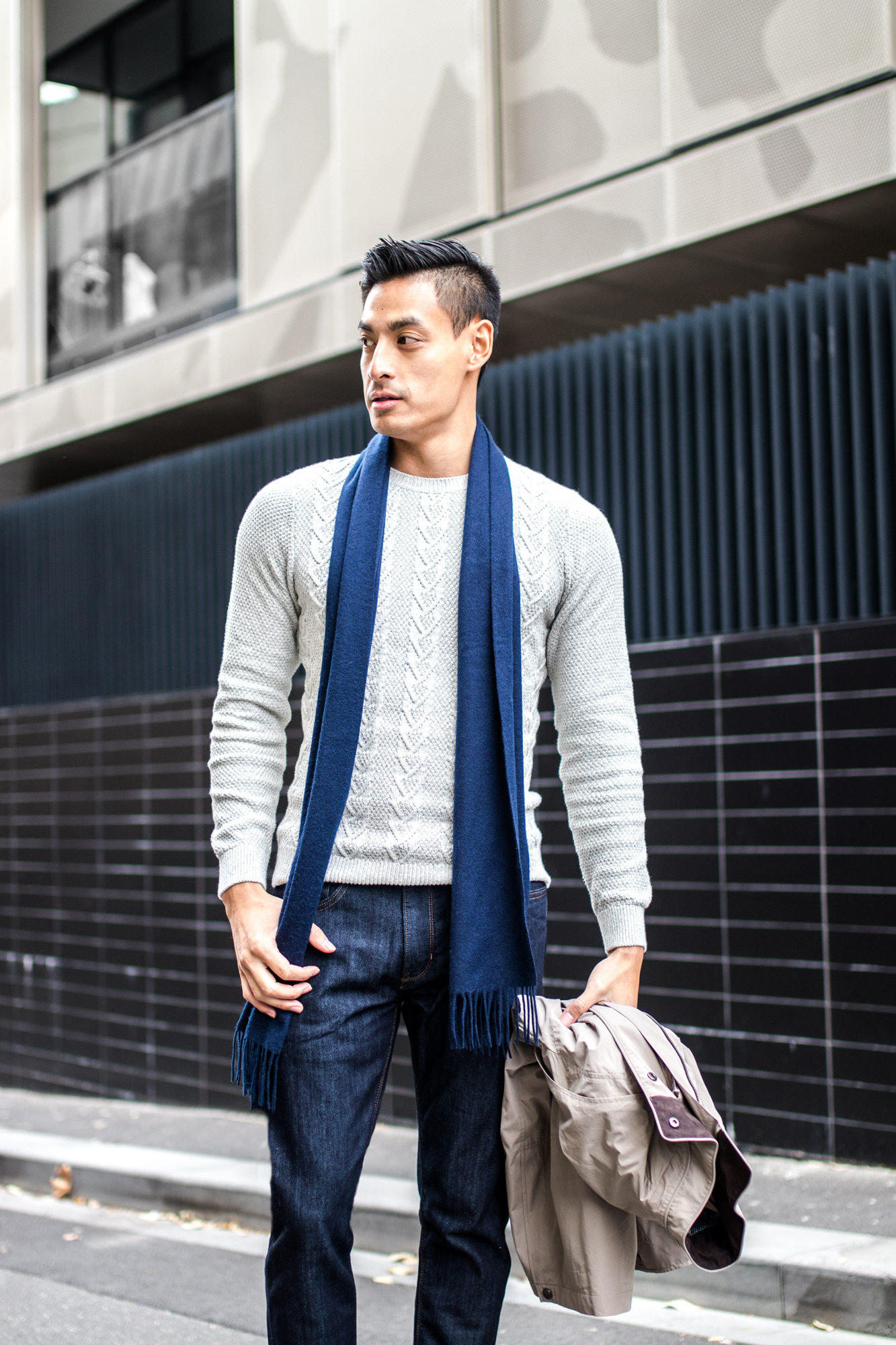 3 Tips To Style Your Knitwear With Marks Spencer Mens Fashion