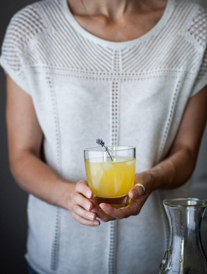 The Simple Green -Citrus Lavender Schorle