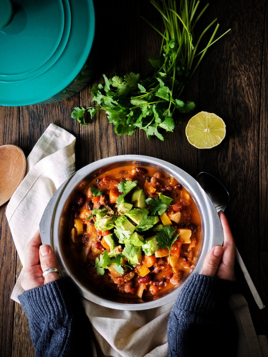 Sweet Potato Chili