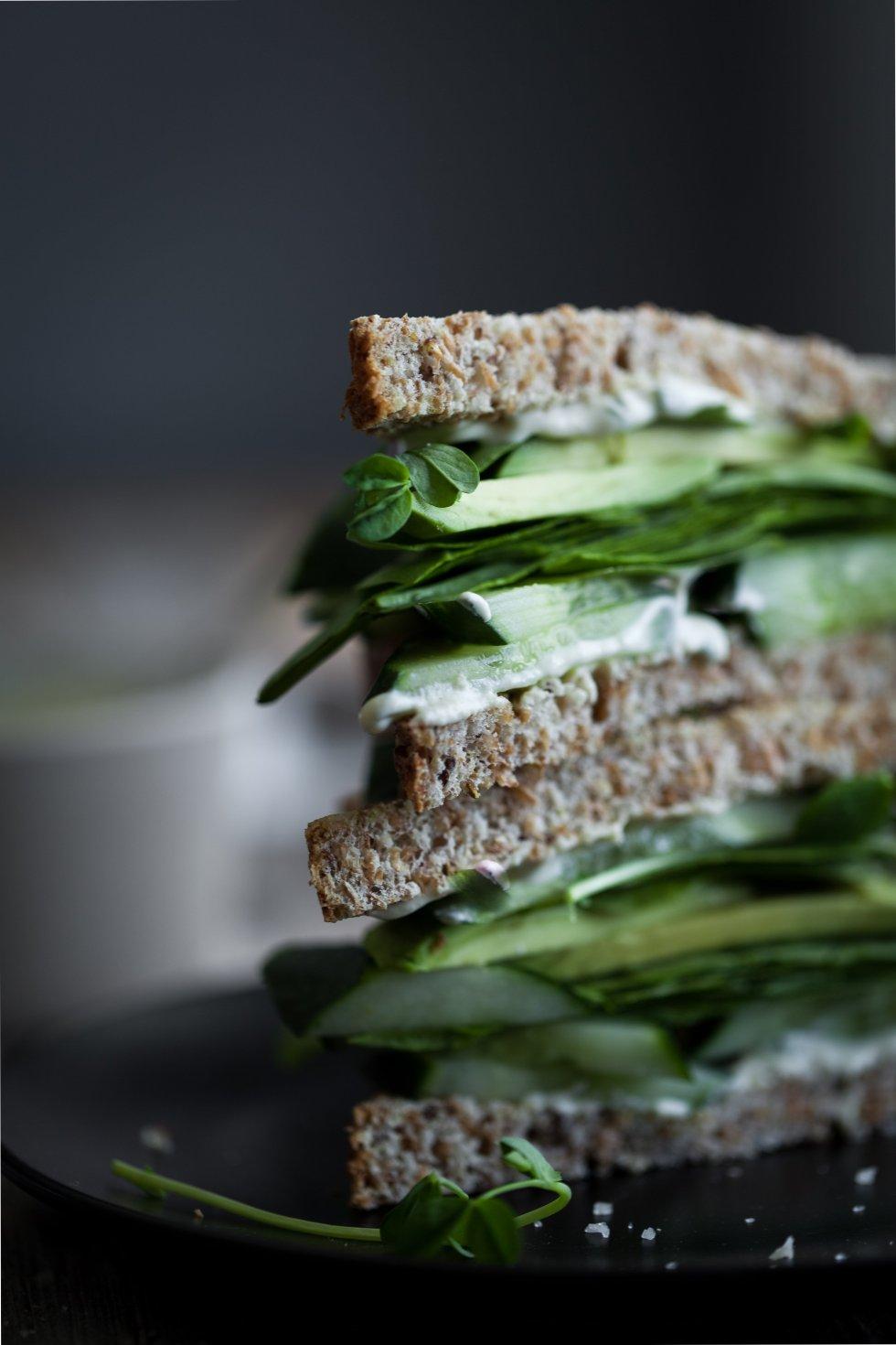 the simple green - green goddess sandwich