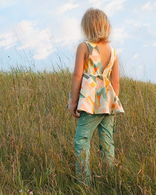 Emilya's Skinny Pants, Capris + Bermuda Shorts | The Simple Life Pattern Company