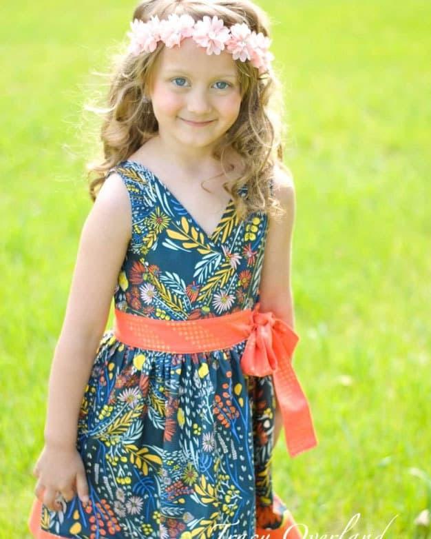 Megan's Wrap Top + Dress   The Simple Life Pattern Company