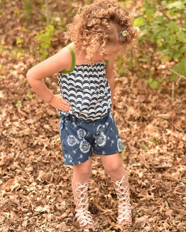 Marlie's Romper | The Simple Life Pattern Company