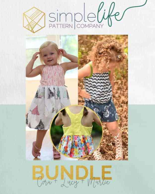 Cora + Lucy + Marlie | Bundle | The Simple Life Pattern Company