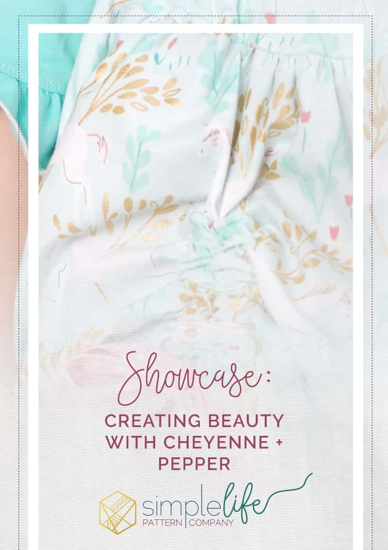 Showcase Cheyenne Pepper The Simple Life Pattern Company