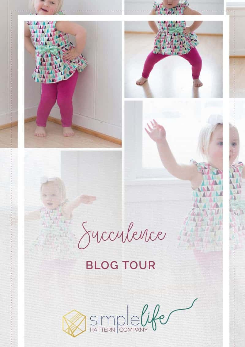 Succulence Blog Tour   The Simple Life Pattern Company