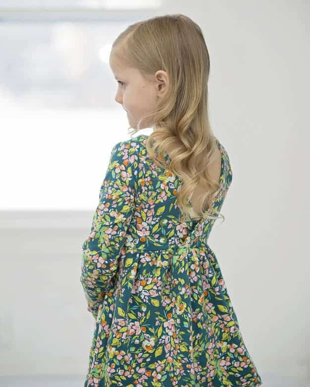 Knit Ayda's V Back Peplum + Dress | The Simple Life Pattern Company