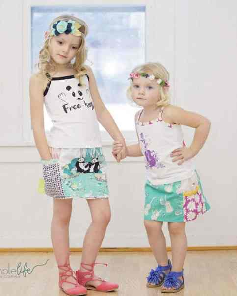 Free Gracie's Pocket Skirt | The Simple Life Pattern Company