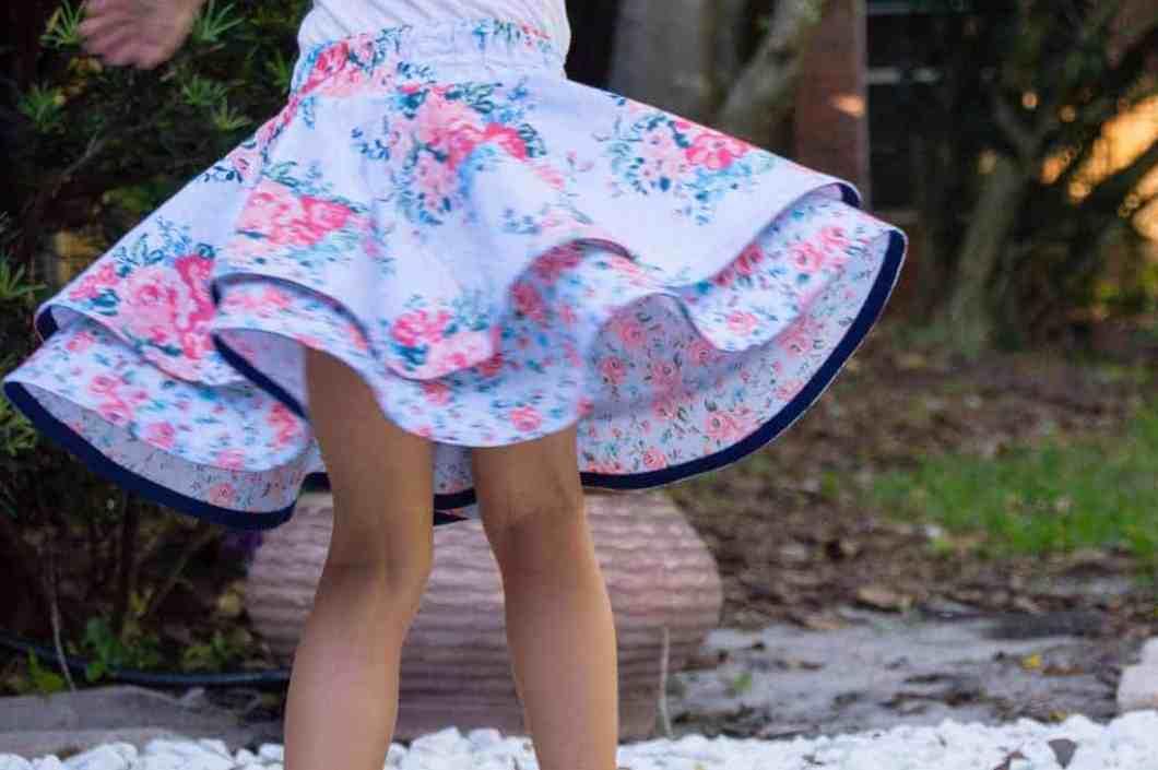 Hemming a Circle Skirt