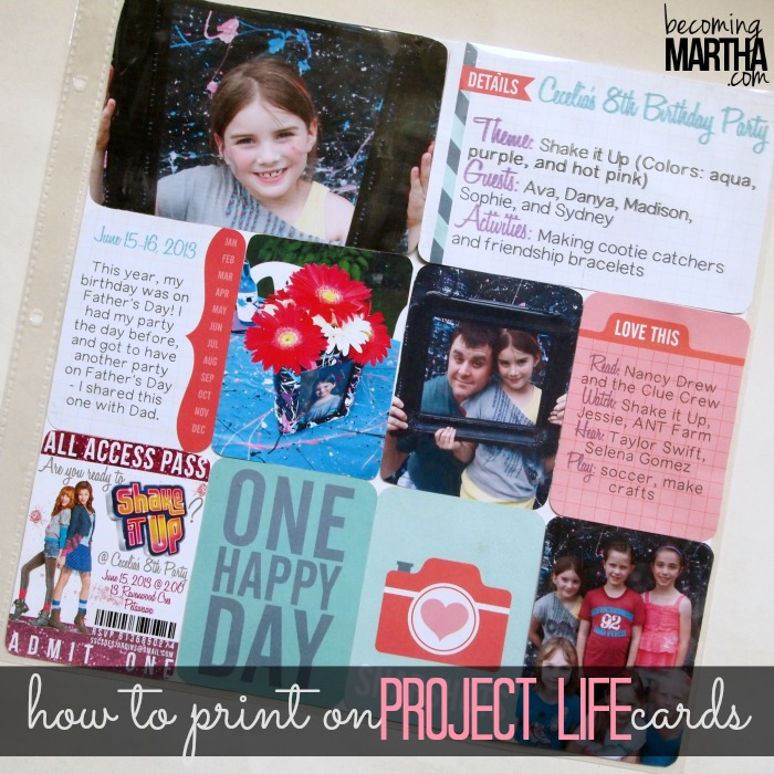 print on project life cardsHow to Print on Project Life Cards - The Simply Crafted Life