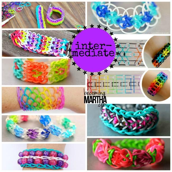 Rainbow Loom Intermediate Bracelet Patterns