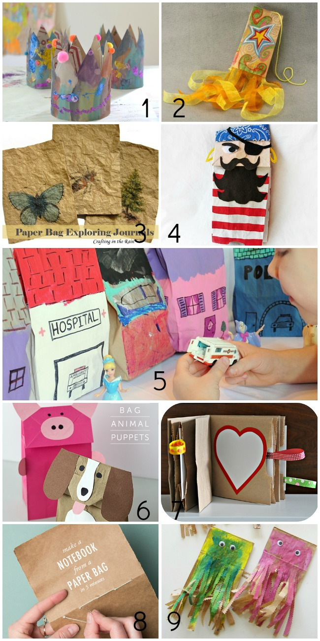 50+ Things to Make With Paper Bags - For the Kids