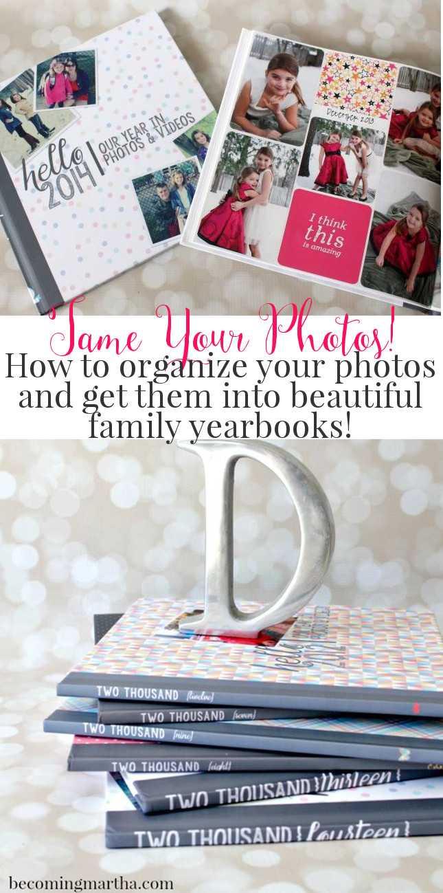 Want to create beautiful family yearbooks, but not sure where to start? This blog series from BecomingMartha.com will guide you every step of the way!