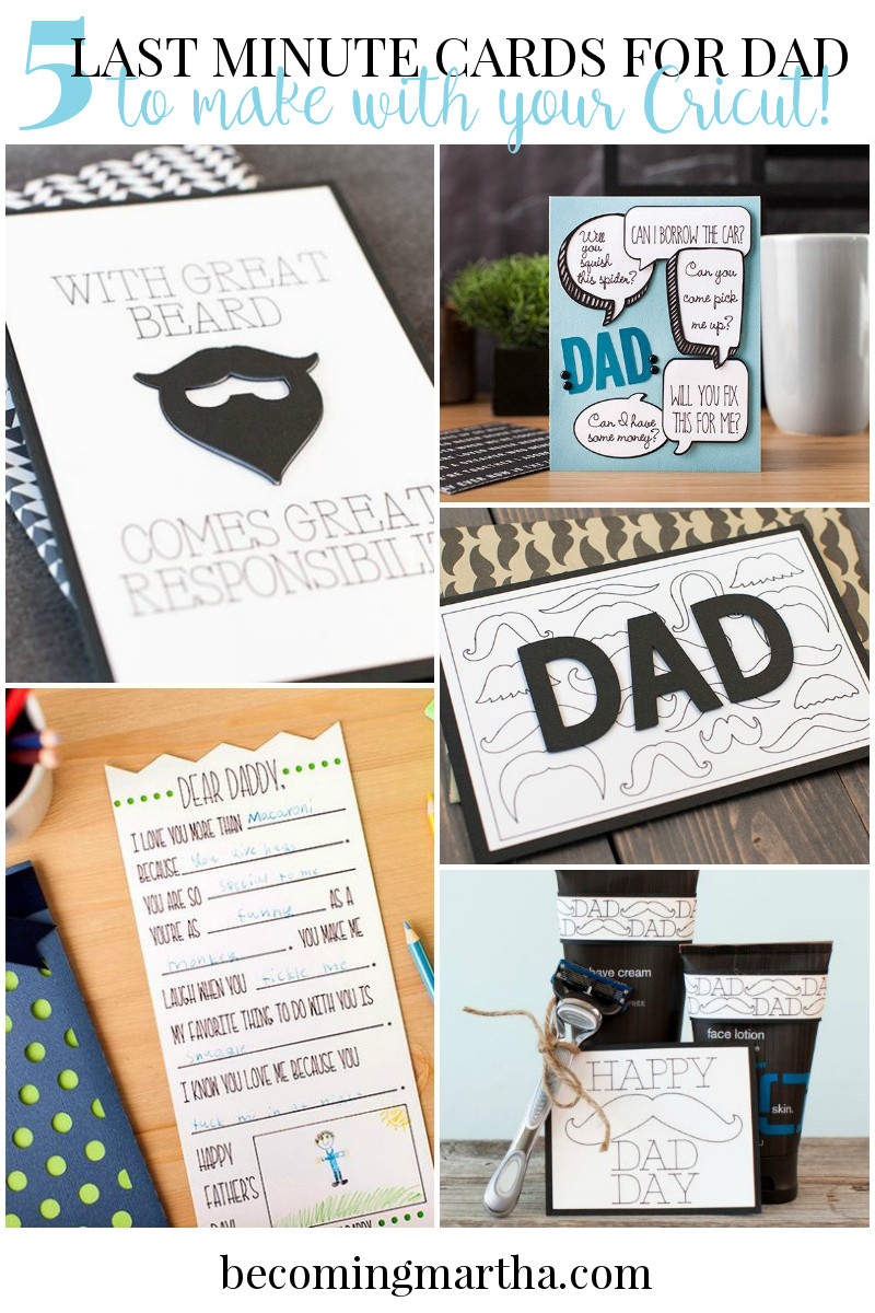 fathersdaycardscricut