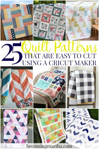 Cricut Maker Quilt: In Part 1 of this two part post, learn how to find a quilt pattern that is easily designed in Cricut Design Space.