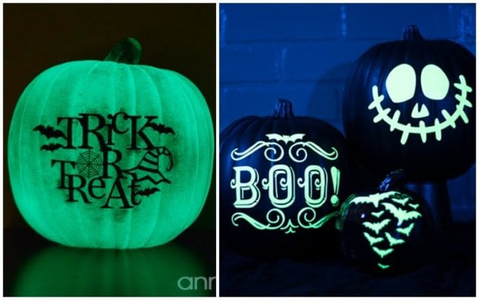 No Carve Cricut Pumpkin Decorating Ideas
