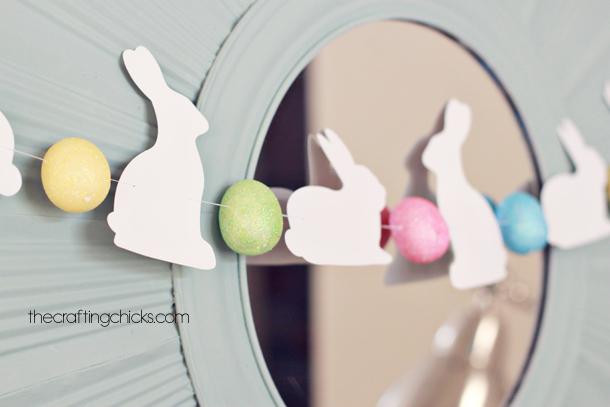 Cricut Easter Bunny Banner