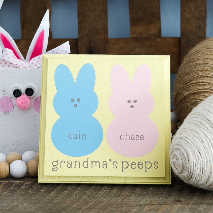 Cricut Easter Craft for Grandma