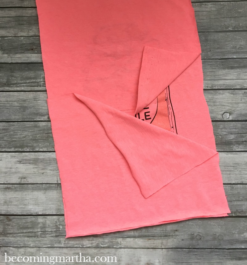 Layers to create envelope pillow