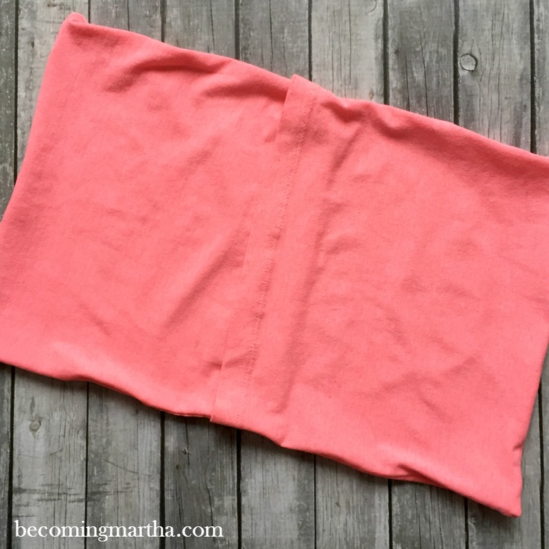 sewing an envelope pillow cover
