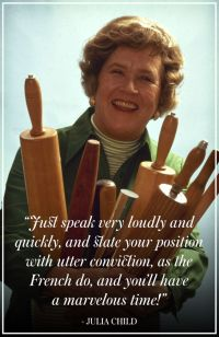 Life Lessons from Julia Child & How to Flip an Omelette ...