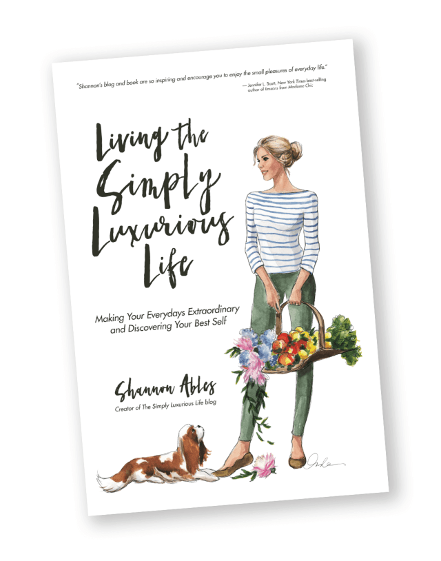 Living the Simply Luxurious Life Book Cover