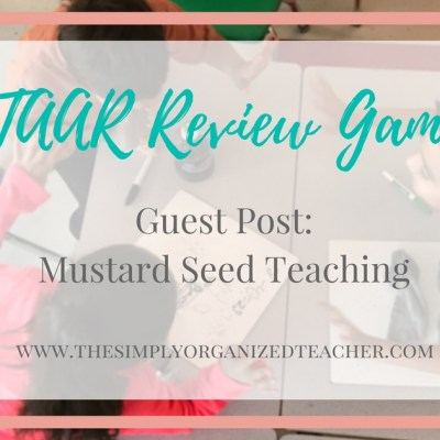STAAR Review: Guest Post from Mustard Seed Teaching