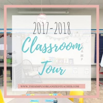 Classroom Tour 2017-2018