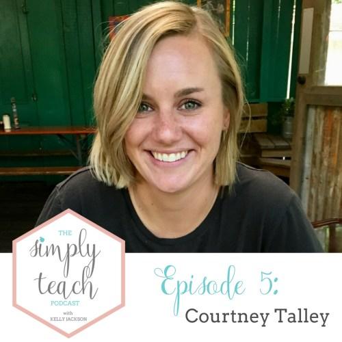 Simply Teach- a podcast for teachers and by teachers.