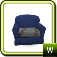 rebecah's Baseball Set Toddler Arm Chair