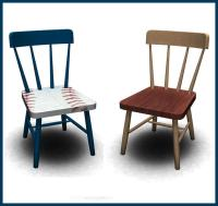 rebecah's Baseball Set Toddler Sized Dining Chair