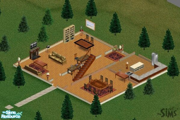 Sims 1 Houses