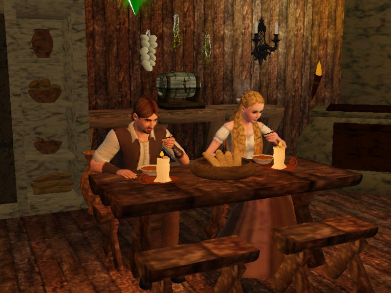 MajikGoldys Medieval Dining Table