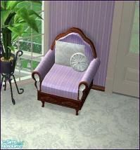 micha89's Mauve Bedroom Set - Armchair