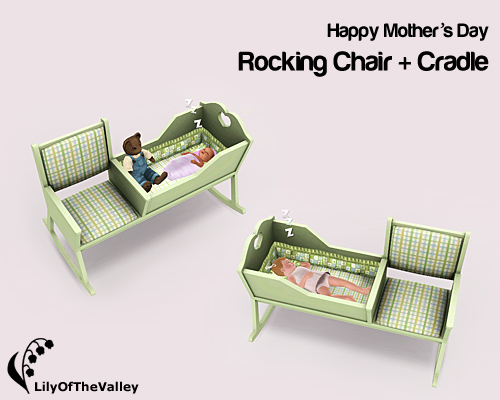 rocking chair cradle executive leather lilyofthevalley s mother day