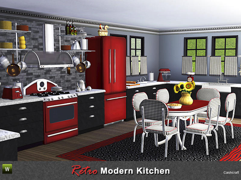 retro kitchen table and chairs set stainless steel sinks cashcraft's modern