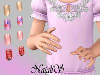 NataliS' Short polished nails for Child ( CF)