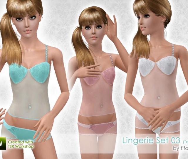 Lingerie Set  Teen