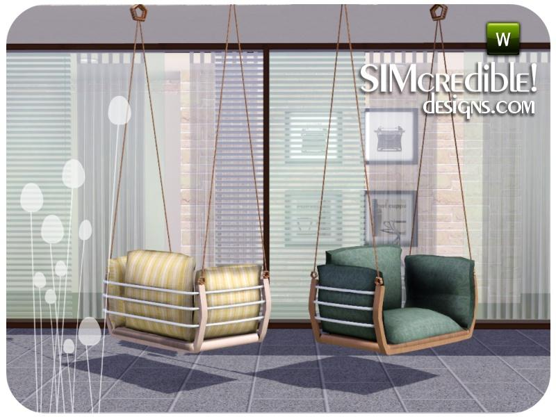 hanging chair the sims 4 dining seat replacement simcredible s summer illusion
