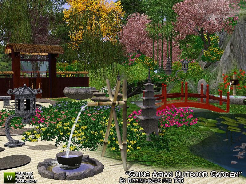 TheNumbersWomans Going Asian Outdoor Garden