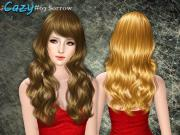 cazy's sorrow hairstyle - female