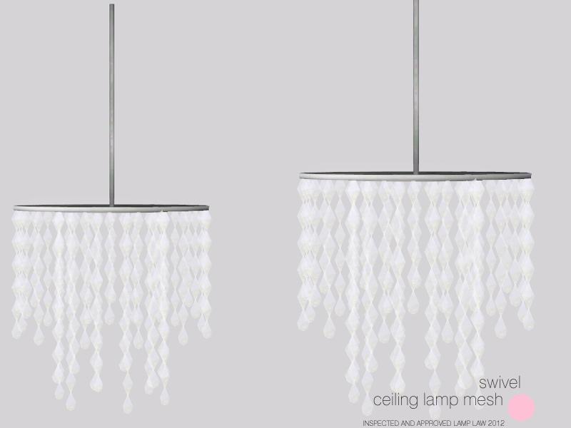 DOT's Swivel Ceiling Lamp Mesh