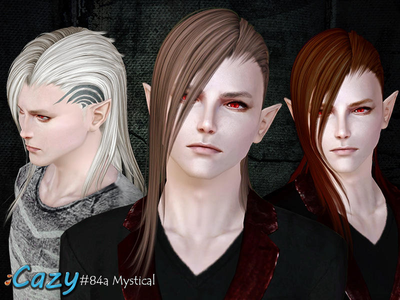 Cazy's Mystical Hairstyle Male