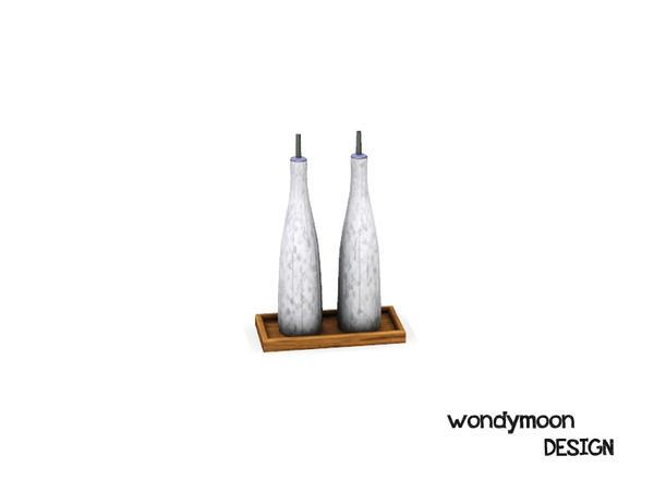 wondymoon's Curium Ceramic Oil and Vinegar Set