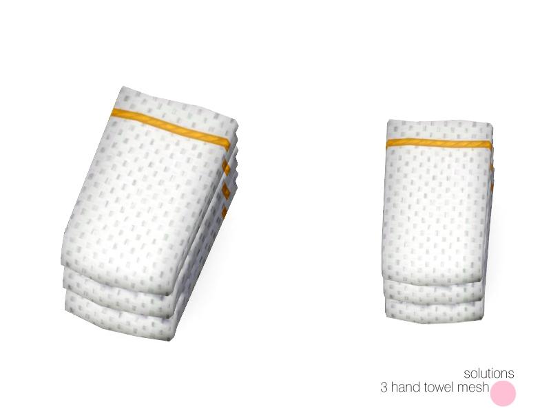DOT's Solutions 3 Hand Towel Mesh