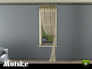 Canton Sheer Curtain Right