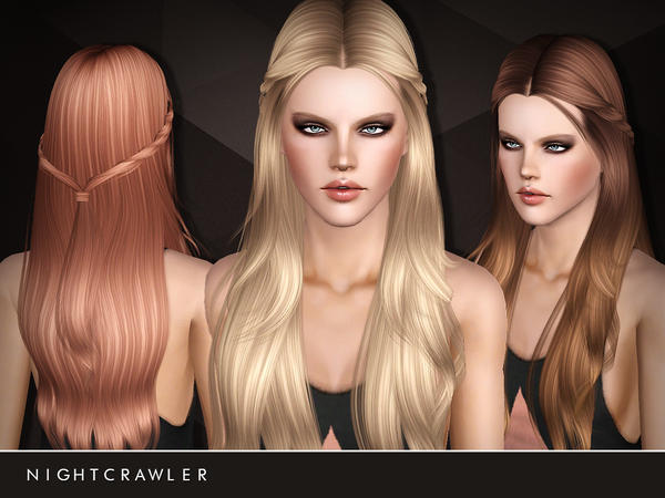 Does Anyone Know Of CC Hair Like This Hair Style? — The Sims Forums